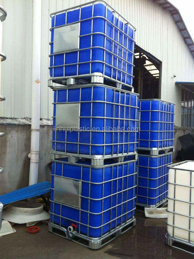 azul 1000 litros do tanque ibc container intermedi rio. Black Bedroom Furniture Sets. Home Design Ideas