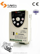 compact size 0.75kw ISO90001 CE similar to delta L series VFD004L21A ac 220v inverter convert single phase to three phase