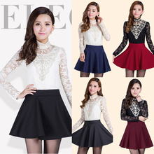 Latest Hot Sell Fashion summer autumn solid color skater mini pleated short skirt
