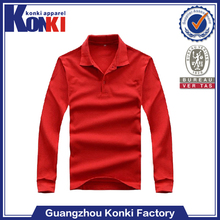 manufacturers oem branded long sleeve dry fit polo tshirt