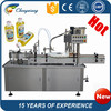 High speed Automatic adhesive soybean oil filling and capping machine