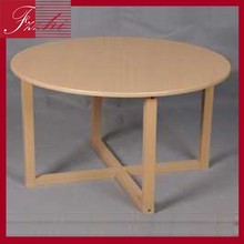 High popular mdf coffee shop table top mdf colorful wood tables