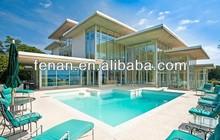 New Desing Aluminum Sunroom Prefabricated Glass House