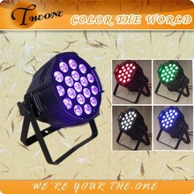 Stage effect uv color led professional lighting led par 64