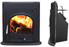 Inbuilt Wood Burning Fireplace