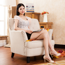 kuka living room leather single sofas good quality zy9021