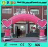 2015 outdoor durable inflatable wedding arch