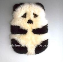 SheepSkin Long Wool Panda Rug