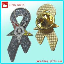 Masonic items gold plated masonic lapel pins/masonic badges/masonic car emblem