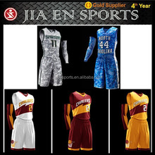team club high quality latest design basketball jerseys cool design sublimation short sleeve basketball jersey
