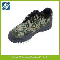 New arrival military outdoor camo canvas army training shoes