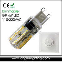 Dimmable Capsule G9 4W 230VAC LED Light Bulb Design Your Package Good Carton