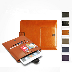Genuine Cow Leather Case For iPad mini 3/mini 2/Samsung Tab 2/Google Nuxes 2 Tablet,Sleeve bags for iPad mini 3