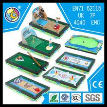 alibaba china games plastic toy manufacturing company mini billiard table