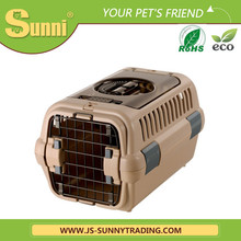 Luxury cat carrier plastic outdoor cat kennel