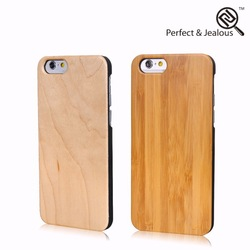 new products Natural bamboo case cover for iphone 6