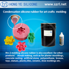 silicone rubber for complicated undercuts & fine arts molds making
