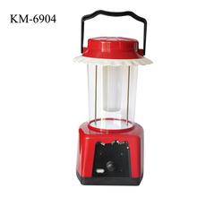LED Solar battery Outdoor power pack solar Lantern for Camping, KM-7901/6904