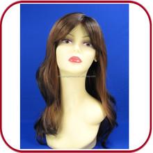 Febbre ondulato lungo Auburn pgw-1771 cosplay parrucca