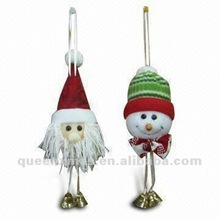 Santa Snowman Christmas Ornaments For Tree