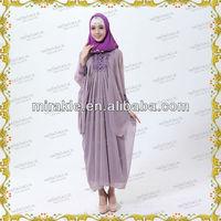 MF17100 2013 new muslim kaftan abaya jilbab for women