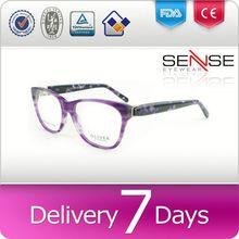 round eyeglasses frames for men cellulose acetate cr39 polarized lens