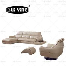 Factory price sofa furniture price sofa with revolving chair