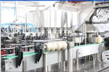 Safty automatic Milk/juice aluminum foil filling machine