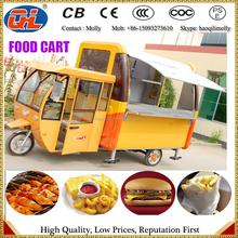 hot dog cart and Ice cream cart|Hand push mobile cart food