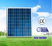 Using UV-resistant silicon , tempered glass ,60W Polycrystalline Solar Panels