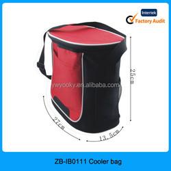 Wholesale promotional single shoulder strap blank cooler bags for men, food delivery cooler bag, thermostat bag cooler bag