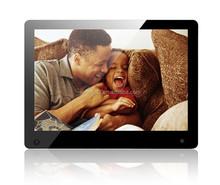 Wall mounted 1080P LCD Media Advertising Equipment display