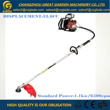 26mm Pipe 41.5cc Petrol backpack gardening tools grass cutter