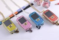mini lovely diamond phone kids flip phone 1.44 inch with mp3/4 function model n1