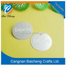 coin round shaped metal tag/badge with your own design and company logo supplier with best quality and price and fast delivery