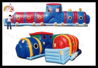 2015 caterpillar animal inflatable tunnel bouncer tunnel inflable, deportes inflables