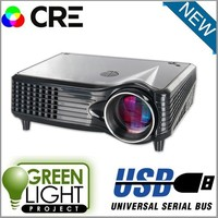 High Quality! 1500lumens LED Projector Portable LCD projectors multimedia digital Video mini projector