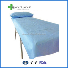 Nonwoven oriental bed sheet made by disposable material