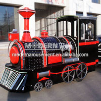 modern amusement trackless mall kids train