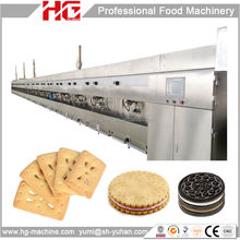 industrial food factory making biscuit machine