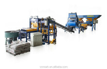 QT4-15 Small Scale Industries Machines for Making Concrete Blocks