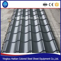 Color Corrugated Metal Zincalume Roofing