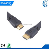 HDMI Version 1.4 Flat Cables, Gold-plated Metal Shell, 10Gbps Bandwidth