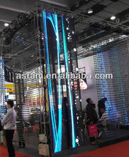 Aliexpress stage background flexible led mesh curtain flexible oled/ led mesh curtain/led mesh screen display P12.5MM