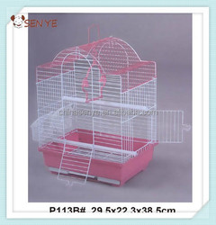 Hot sale folding wire bird cage,hanging bird cage