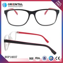 2015 Latest gradual change spectacle thin leg beautiful optical-transmitter-price