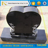 black granite monument american style tombstone for cemetry