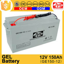 Good price 12v 150ah gel battery for solar ups
