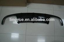 Fibra de carbono trasero difusor labio trasero parachoques trasero posición difusor labio para clase c w204 amg estilo