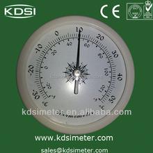 analog wall clock thermometer hygrometer barometer